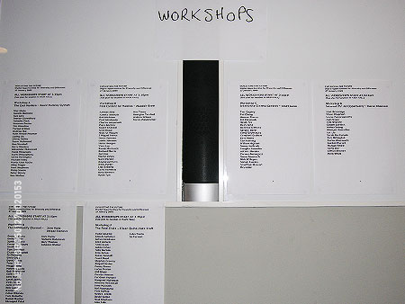 Workshops, Exploiting the Future